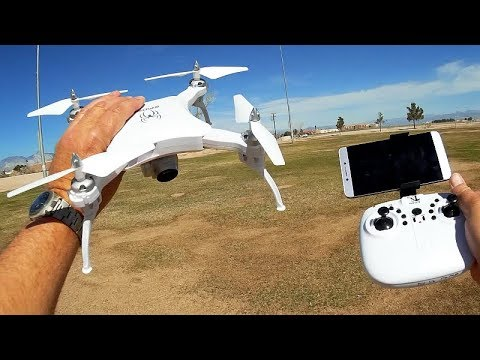 Yile S16 Spider Folding FPV Camera Drone Flight Test Review - UCKy1dAqELo0zrOtPkf0eTMw