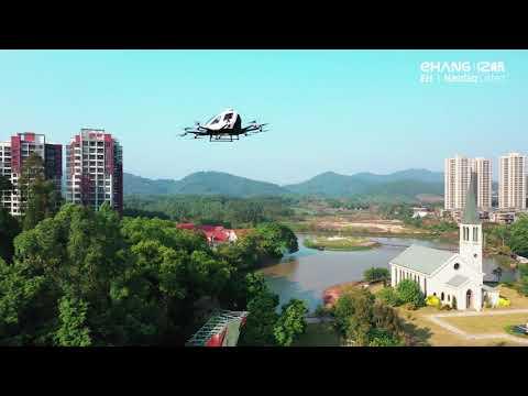 Uçan Taksi Çin'de Hizmet Vermeye Başladı