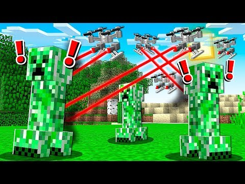 *DEADLY* DRONES INVADED MY MINECRAFT WORLD! - UC_cvTMeip9po2hZdF3aBXrA