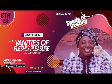 Dr Becky Paul-Enenche - SEEDS OF DESTINY - SATURDAY AUGUST 8, 2020