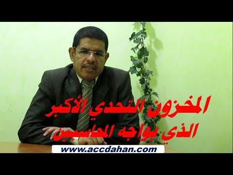 المخزون ، تساؤلات و ردود  محاسبية  مع احمد دحان