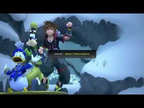 Kingdom Hearts III - Frozen Slider (All Treasures in 5 Passes & Shield Shredder Trophy)