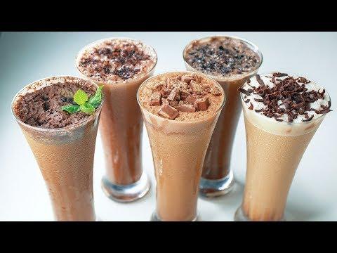 5 Refreshing Cold Coffee | Cold Coffee Recipe | Summer Drinks Recipe | Yummy