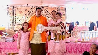 1st Birthday Celebration - Veisinia Tapuaki He Lotu Kioa