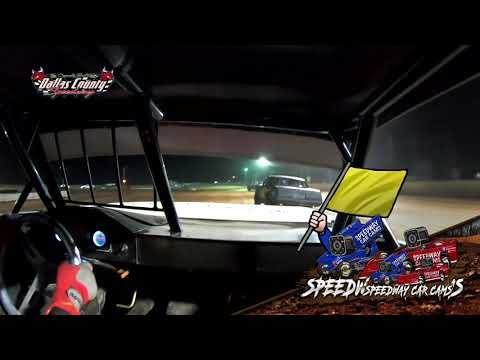 #21 Darren Phillips - Usra Stock Car - 5-7-2021 Dallas county Speedway - In Car Camera - dirt track racing video image