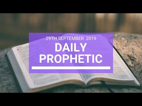 Daily Prophetic 29 September   Word 11