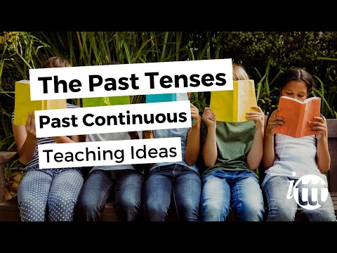 English Grammar - Past Continuous - Teaching Ideas 3 -- Online TEFL Course