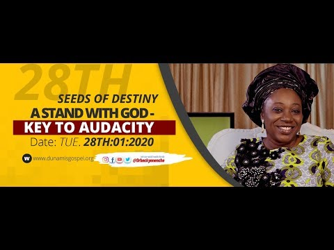 Dr Becky Paul-Enenche - SEEDS OF DESTINY - TUESDAY 28TH JANUARY, 2020