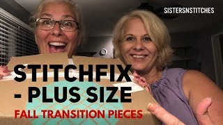 StitchFix - Plus Size/Curvy - Nice Fall Transition pieces