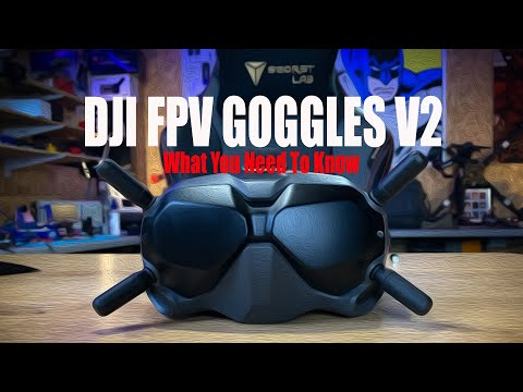 DJI FPV Goggles V2 - Overview Of The Updates - UCxpgzA0iO-7anEAyiLMDRmg