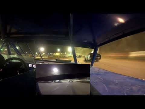 In Car Cam of Marty Smith Jr at Highland Speedway 8-13-21 Summer Nationals (A-mod) - dirt track racing video image