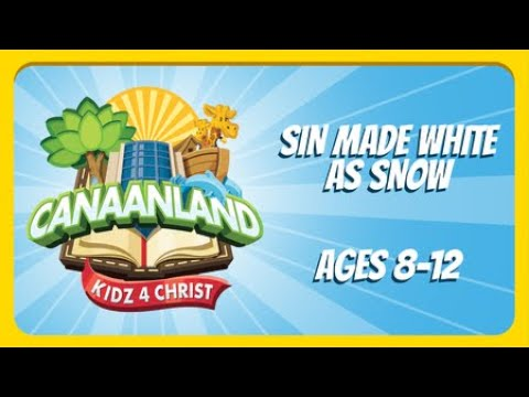 Children's Church Ages 8 to 12 - February 28, 2021