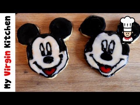 Mickey Mouse Cookies Recipe MYVIRGINKITCHEN