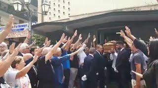 Napoli, saluto fascista al funerale dell'ex presidente della Regione Antonio Rastrelli