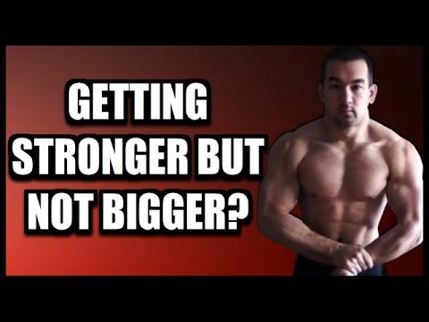 """""""I'm Getting Stronger But Not Bigger!"""" (Strength Gains Without Mass) - UCGXRegKvroyGv8HbN35AjKA"""