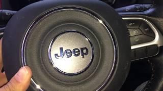 Smontare airbag volante Jeep Renegade