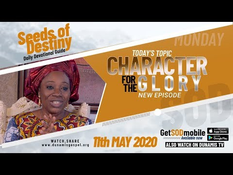 Dr Becky Paul-Enenche - SEEDS OF DESTINY  MONDAY, 11 MAY, 2020
