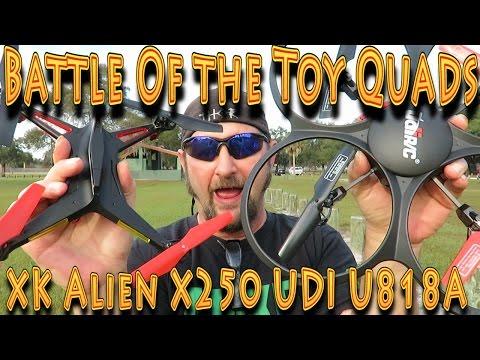 Battle of the Toy Quads: UDI U818A-1 vs XK Alien X250 - UC18kdQSMwpr81ZYR-QRNiDg