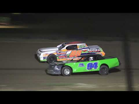 Street Stock A-Feature at Crystal Motor Speedway, Michigan on 08-07-2021!! - dirt track racing video image