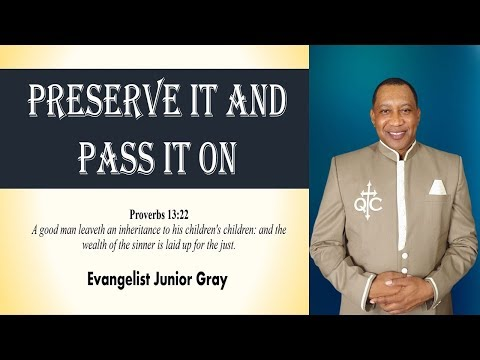 Bethel  Word Conference 2020 April 15, 2020 Evangelist. Junior Gray
