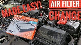 Cambio filtro aria Honda Civic 10 Generazione