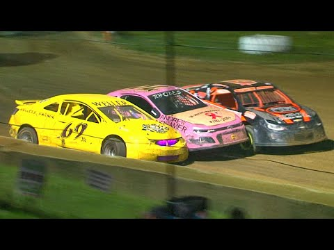 Mini Stock Feature | Freedom Motorsports Park | 9-10-21 - dirt track racing video image