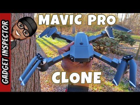 WINGLESCOUT XT-1 Foldable Mavic Pro Clone Review and Flight Test - UCMFvn0Rcm5H7B2SGnt5biQw