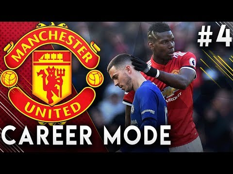 FIFA 19 Manchester United Career Mode EP4 - Hazard VS Pogba!! Can We Beat Chelsea?!