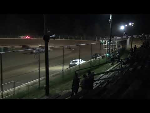 Jackson County Speedway   6/18/21   Hobby Stock Feature - dirt track racing video image