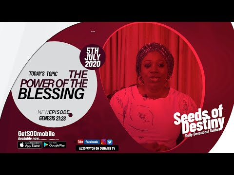 Dr Becky Paul-Enenche - SEEDS OF DESTINY - SUNDAY JULY 5, 2020