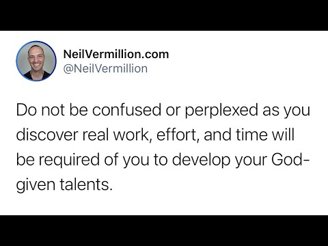 Examine The Talents Also Given You - Daily Prophetic Word