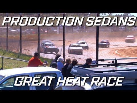 Production Sedans: The Classic Great Heat Race - Ellenbrook Speedway - dirt track racing video image