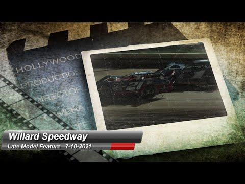 Willard Speedway - Super Late Model feature - 7/10/2021 - dirt track racing video image