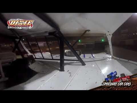 #5 Lucas Ruark - Dixie Speedway 5-1-21 - 604 Crate Late Model - In-Car Camera - dirt track racing video image
