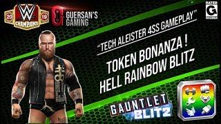 Tech Aleister Hell Token Bonanza Rainbow Blitz Gameplay / WWE Champions 🔥