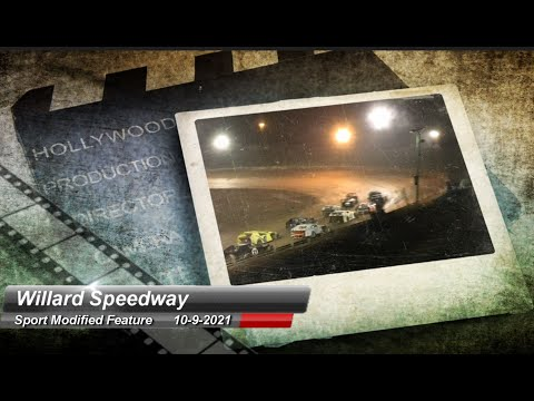 Willard Speedway - Sport Modified Feature - 10/9/2021 - dirt track racing video image