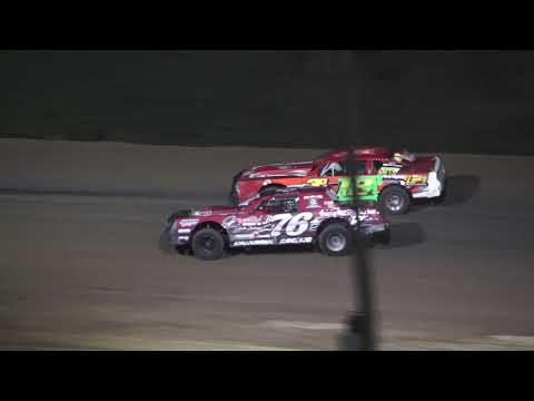 Street Stock B-Feature #1 at Crystal Motor Speedway, Michigan on 09-05-2021!! - dirt track racing video image