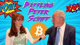 Battling Bitcoin-Skeptic Peter Schiff