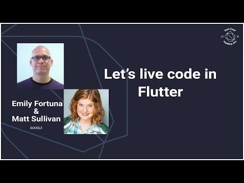 Let's live code in Flutter (DartConf 2018) - UC_x5XG1OV2P6uZZ5FSM9Ttw