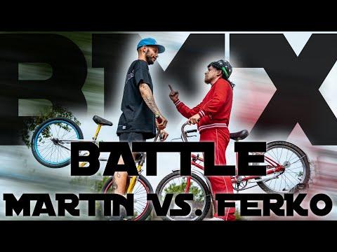 BMX Battle - Martin vs Ferko :)