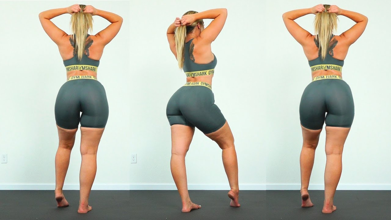 CURVY THICK HIPS and THICK THIGHS WORKOUT!