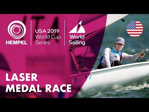 Laser Medal Race | Hempel World Cup Series: Miami, USA