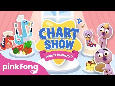 Pinkfong Chart Show: Who's Hungry?   Mukbang   Pinkfong Chart Show   Pinkfong Songs for Children - UCcdwLMPsaU2ezNSJU1nFoBQ