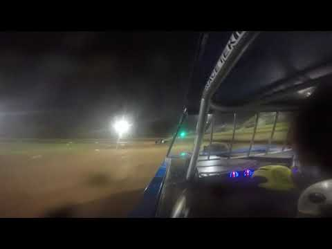 09/25/21 GOPRO Street Stock Feature Race from the #77 Nelms Car - Modoc Raceway - dirt track racing video image