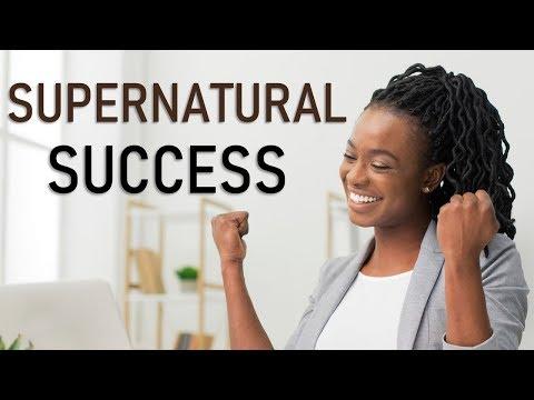 SUPERNATURAL SUCCESS - BIBLE PREACHING  PASTOR SEAN PINDER