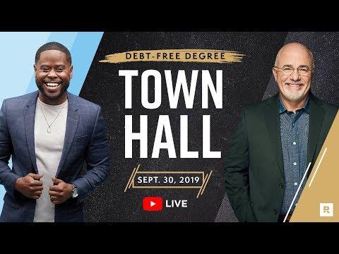 Debt Free Degree Town Hall