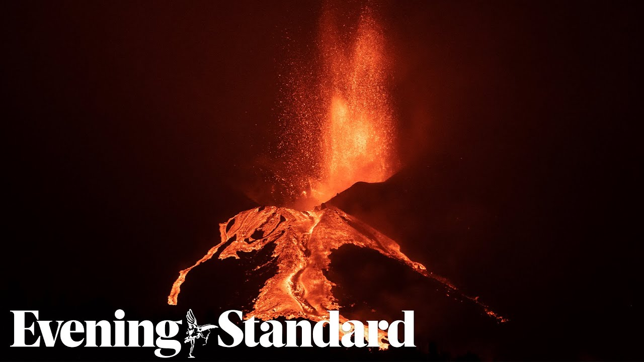 La Palma: Erupting volcano 'more intense than ever' after crater collapse