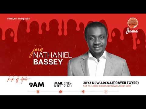 NATHANIEL BASSEY  MARATHON MESSIAH'S PRAISE 2020 INVITATION