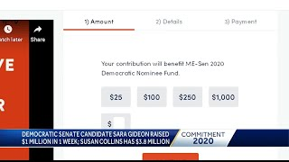 Challengers to Sen. Susan Collins raising money ahead of campaign season