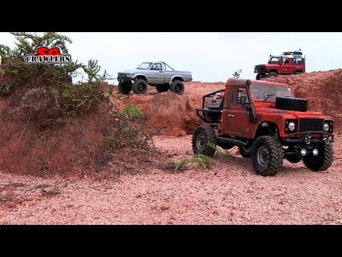 15 Scale RC Trucks Offroad Adventures AEV Jeep Brute TF2 hilux Defender 110 Hummer - Part 1 - UCfrs2WW2Qb0bvlD2RmKKsyw